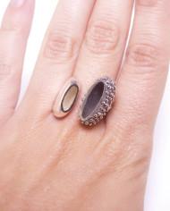 anillo de plata martalonso efimero 97c