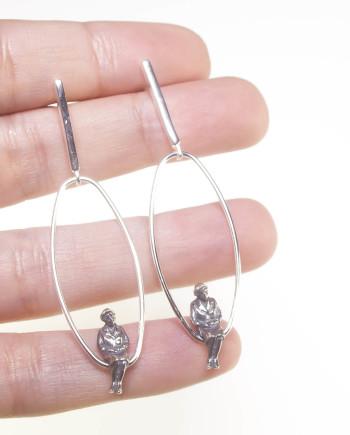 pendientes de plata martalonso transeunte 2